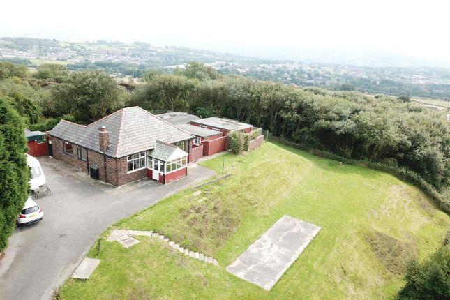 Thumbnail Detached bungalow for sale in Quarry Bungalow, Harrop Edge Road, Mottram, Hyde