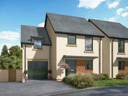 Thumbnail Detached house for sale in Okehampton, Devon