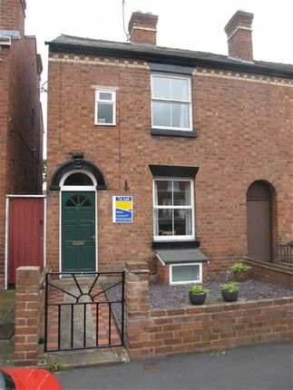 Thumbnail End terrace house to rent in Percy Street, Greenfields, Shrewsbury