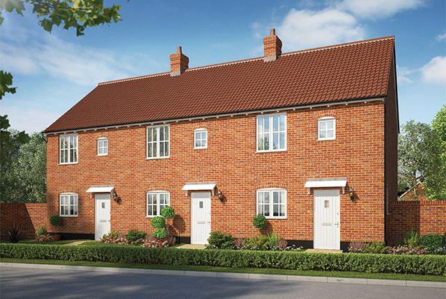 Thumbnail Terraced house for sale in Alconbury Weald, Former RAF/Usaaf Base, Huntingdon, Cambridgeshire