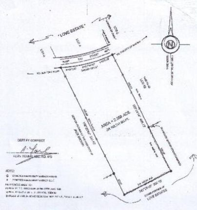 Land for sale in Love Beach, The Bahamas