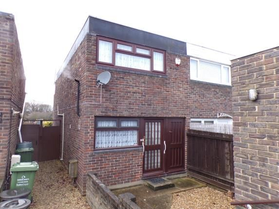 Thumbnail End terrace house for sale in Woodlands, Basildon, Essex