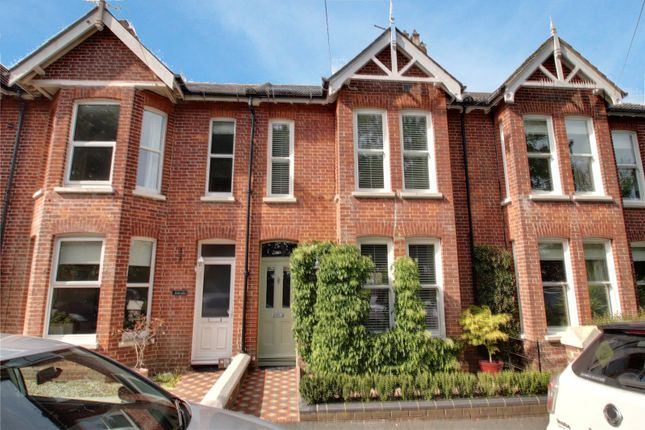 Thumbnail Terraced house for sale in Claigmar Road, Rustington, West Sussex
