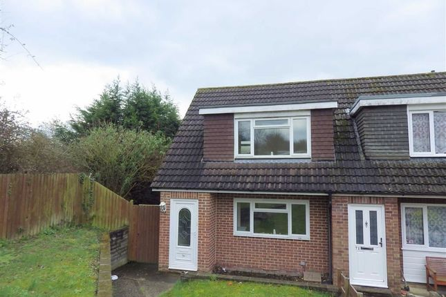 Thumbnail End terrace house to rent in Thoresby Avenue, Tuffley, Gloucester