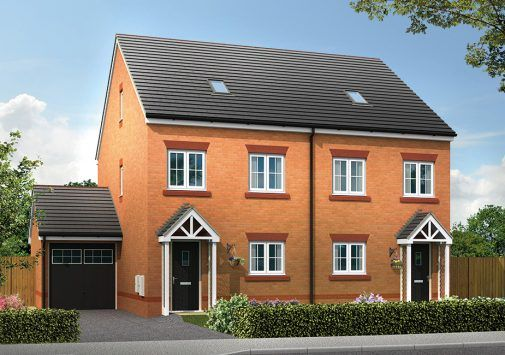 Thumbnail Town house for sale in Sandy Lane, Chester, Cheshire