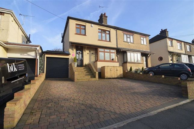Thumbnail Semi-detached house for sale in St James Avenue East, Stanford-Le-Hope, Essex