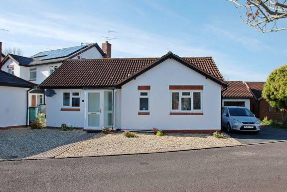 Thumbnail Detached bungalow for sale in Chestnut Way, Newton Poppleford, Sidmouth