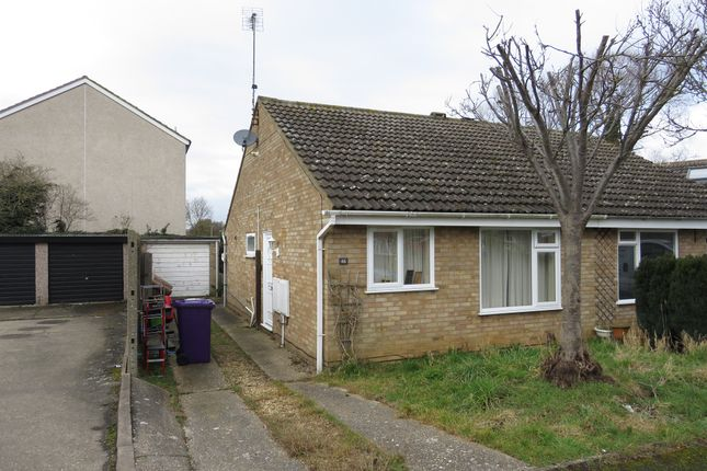 Thumbnail Semi-detached bungalow for sale in Kipling Close, Hitchin