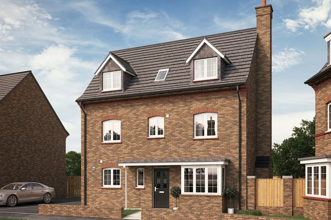 """Thumbnail Detached house for sale in """"The Bromham"""" at Park Crescent, Stewartby, Bedford"""