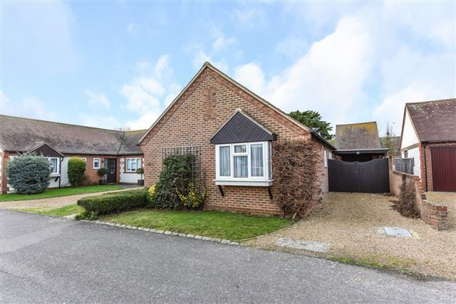 Thumbnail Detached bungalow for sale in Holmwood Close, West Wittering, Chichester