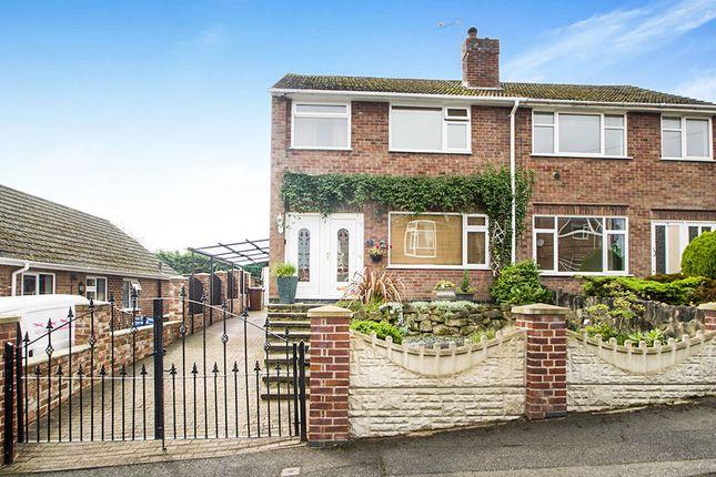 Thumbnail Semi-detached house for sale in Haddon Street, Ilkeston