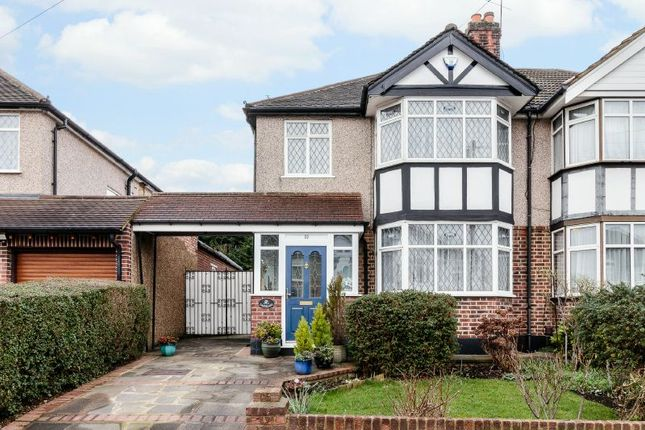 Thumbnail Semi-detached house for sale in Southbourne Close, Pinner, Middlesex