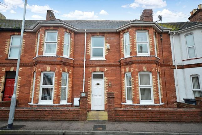4 bed terraced house for sale in Belvedere Road, Exmouth, Devon
