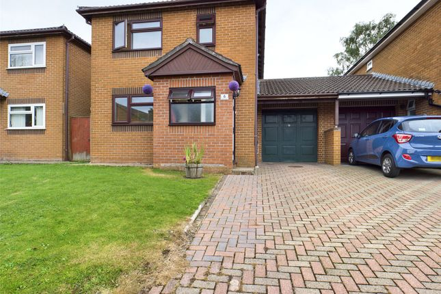 Thumbnail Link-detached house for sale in Roman Way, Coleford, Gloucestershire