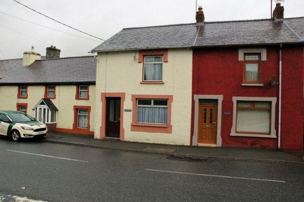Thumbnail Terraced house for sale in Ebenezer Street, Newcastle Emlyn, Carmarthenshire