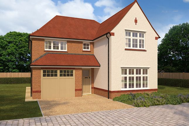 "Thumbnail Detached house for sale in ""Marlow"" at Church Road, Webheath, Redditch"
