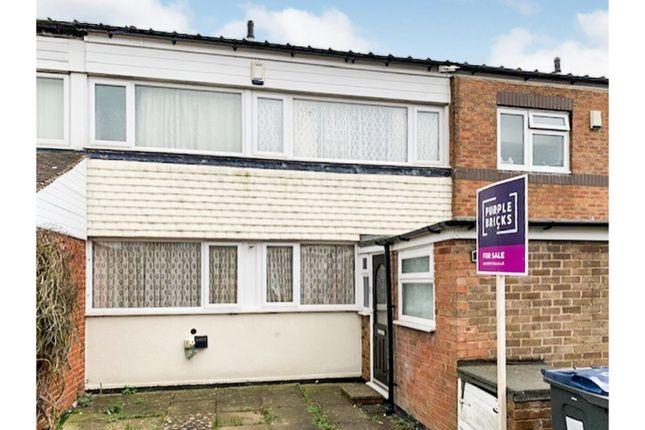 Thumbnail Terraced house for sale in Heyford Way, Birmingham