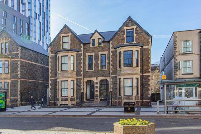 1 bed flat to rent in Churchill Villas, Churchill Way, Cardiff CF10