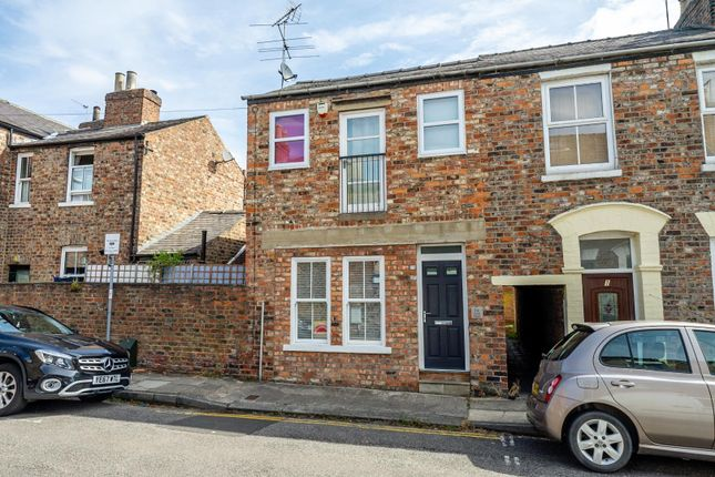 Thumbnail End terrace house for sale in Kyme Street, Bishophill, York