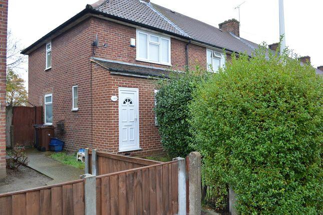 Thumbnail End terrace house to rent in Marlborough Road, Dagenham