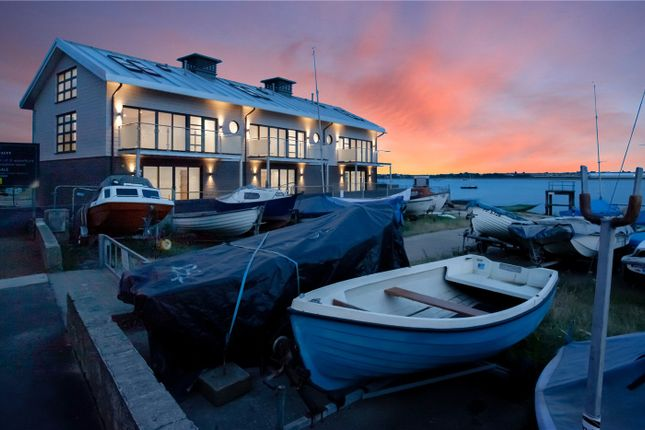 Thumbnail Terraced house for sale in Plot 11, Admiralty Pier, King Edward VII Drive, Shotley, Ipswich