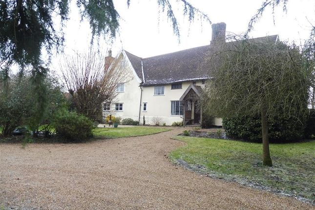 Thumbnail Detached house to rent in Gislingham Road, Finningham, Stowmarket