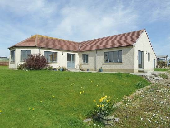 Thumbnail Detached bungalow for sale in Westside, Dunnet