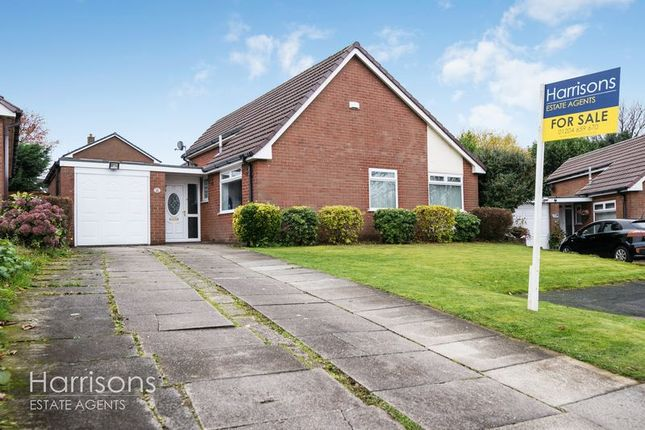 Thumbnail Detached bungalow for sale in Lakelands Drive, Ladybridge, Bolton, Lancashire.