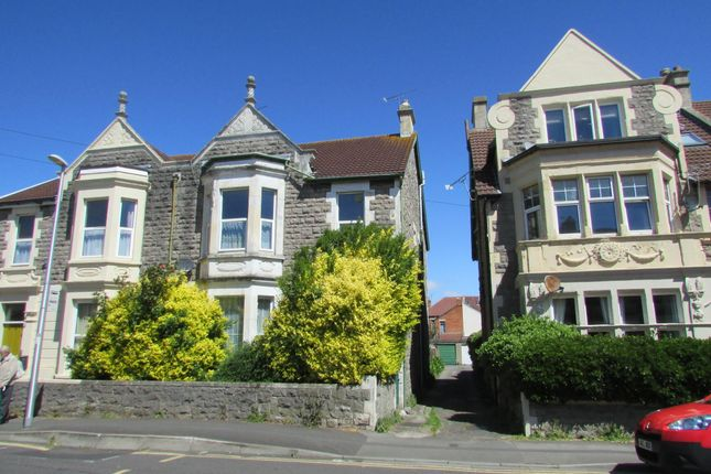 Thumbnail Flat to rent in Severn Road, Weston-Super-Mare