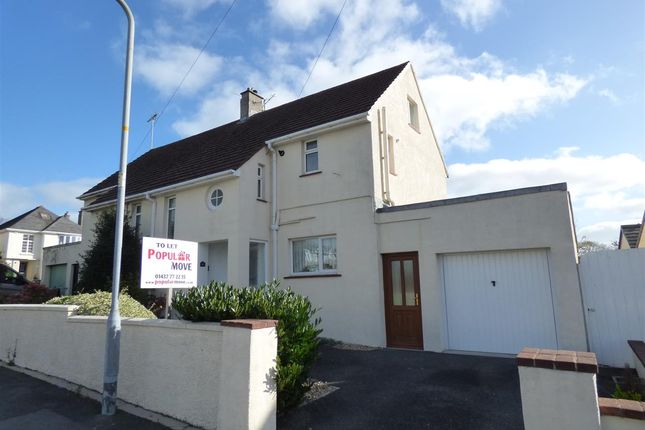 Thumbnail Semi-detached house to rent in The Rise, Haverfordwest