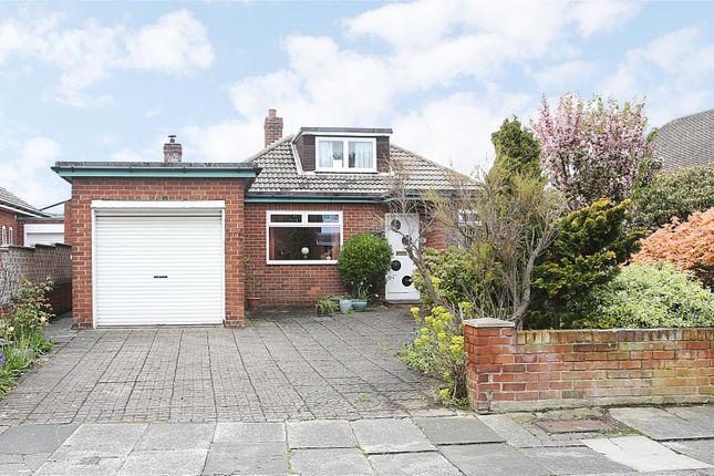 Thumbnail Detached bungalow for sale in Longridge Drive, Whitley Bay