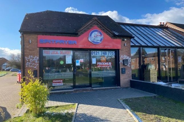 Thumbnail Restaurant/cafe for sale in Parkfield Drive, Castle Bromwich, Birmingham
