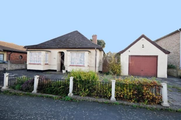 Thumbnail Bungalow for sale in New Century Road, Laindon