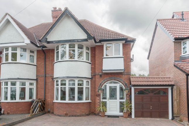 Thumbnail Semi-detached house for sale in Lakey Lane, Hall Green, Birmingham