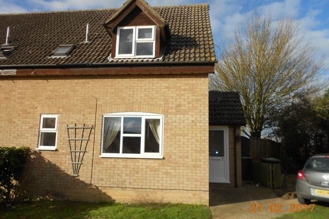 1 bed terraced house to rent in Bennett Avenue, Elmswell, Bury St. Edmunds IP30