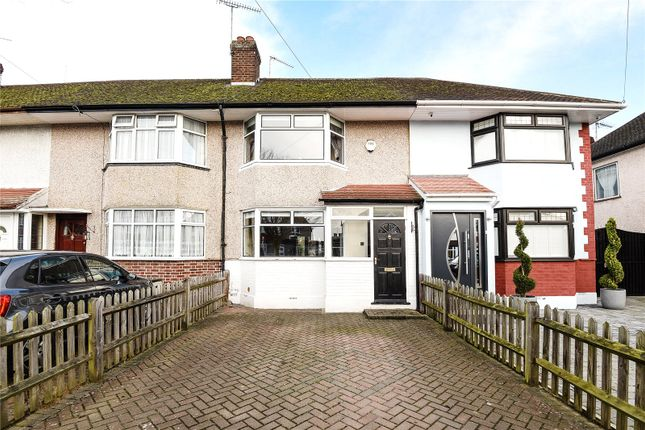 2 bed terraced house for sale in Royal Crescent, South Ruislip, Middlesex