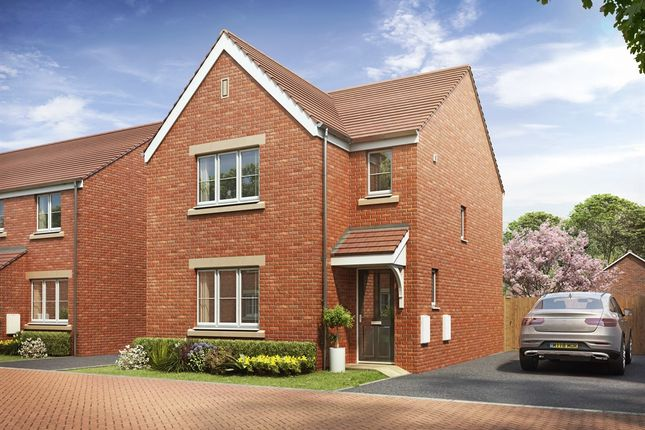 "Thumbnail Detached house for sale in ""The Hatfield "" at Brickburn Close, Hampton Centre, Peterborough"