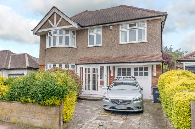 Thumbnail Detached house for sale in The Grove, West Wickham