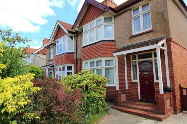 Thumbnail Semi-detached house to rent in Loxwood Avenue, Worthing