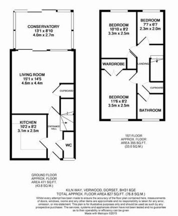 Thumbnail End terrace house to rent in Kiln Way, Verwood