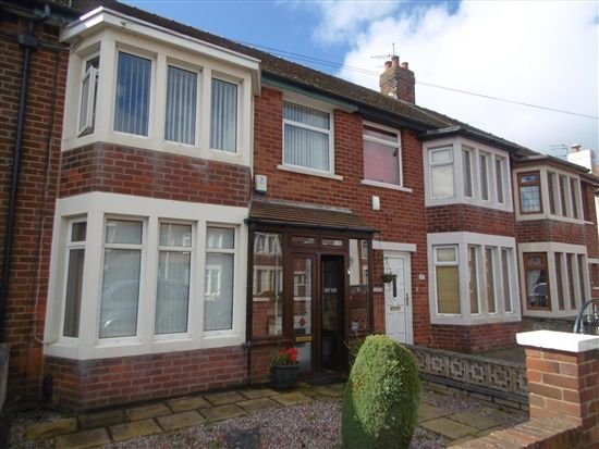 External of Quernmore Avenue, Blackpool FY3