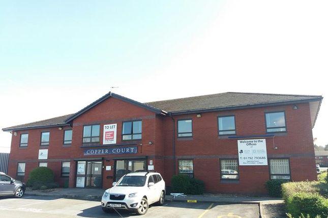 Thumbnail Office to let in Copper Court, New Mill Court, Phoenix Way, Enterprise Park, Swansea, Swansea