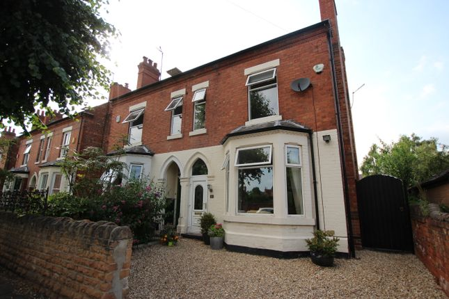 Thumbnail Semi-detached house to rent in Chaworth Road, West Bridgford, Nottingham