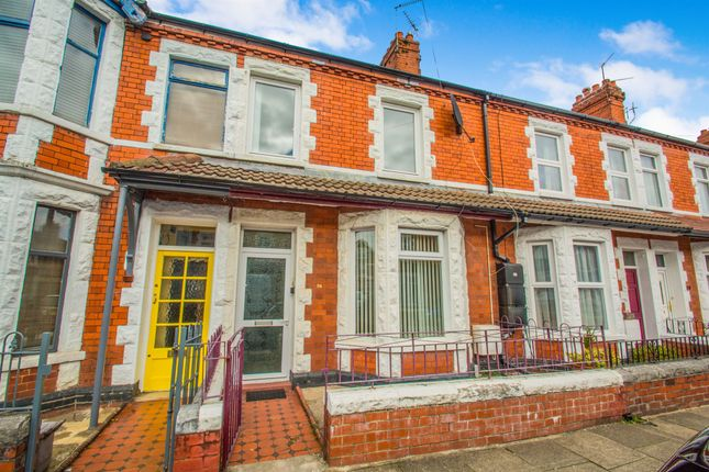 Thumbnail Terraced house for sale in Brunswick Street, Canton, Cardiff