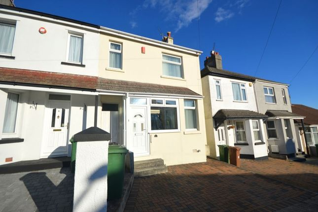 Thumbnail Terraced house for sale in Oakcroft Road, Plymouth