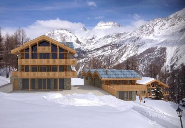 Thumbnail Land for sale in Hohnegg Lodge, Saas Fee, 3906