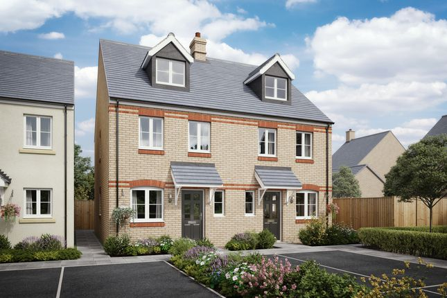 Thumbnail Semi-detached house for sale in Barbican Walk, Barnstaple