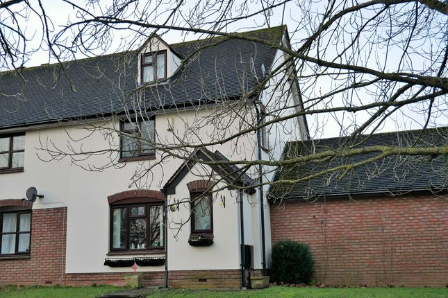 Thumbnail End terrace house to rent in Harts Close, Pinhoe, Exeter