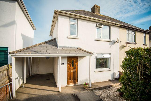 Thumbnail Semi-detached house for sale in Churchill Way, Northam, Bideford