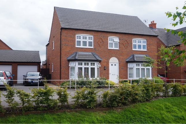 Thumbnail Detached house for sale in Green Howards Road, Chester